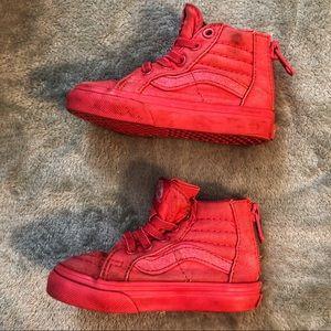 🎈 2/$12 VANS Pink Glitter High Top Sneakers